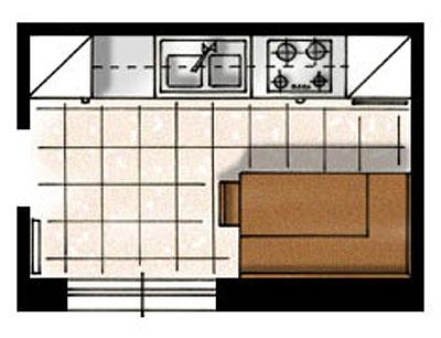Progettazione arredamento - Su di esso si esce da una porta finestra ...