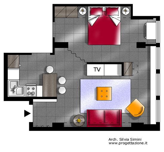 Progettazione arredamento for Ristrutturare casa progetti