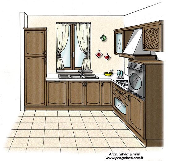 Cucine ad angolo con finestra fabulous cucina classica - Cucine con finestra ...