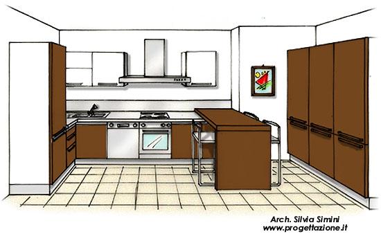 Progettazione arredamento - Ristrutturazione cucina roma ...
