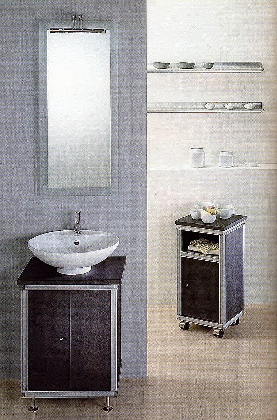 Mobili per lavatrice e lavabo design casa creativa e for Lavabo con lavatrice