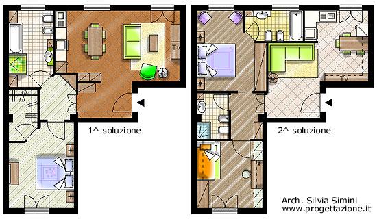Progettazione arredamento - Progetto di un bagno ...