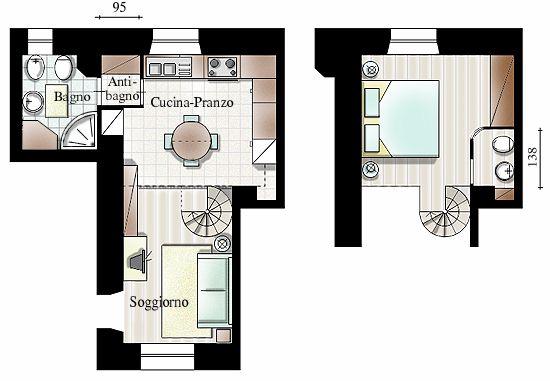Planimetria Bagno Piccolissimo ~ Ispirazione design casa