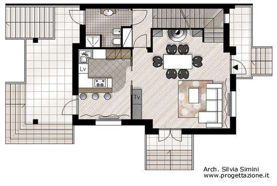 Progettazione arredamento for Progettazione arredamento interni