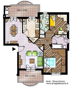 Progetto e soluzioni arredamento casa for Progetti case interni