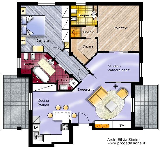 Studio progettazione interni e consulenze arredamenti for Progetti interni case